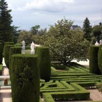 beeld van de Jardines de Sabatini