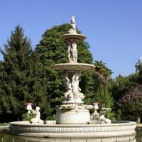 Fontein in de Jardines de Sabatini