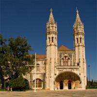 Zicht op het Monasterio dos Jerónimos