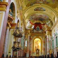 Plafond van de Jesuitenkirche