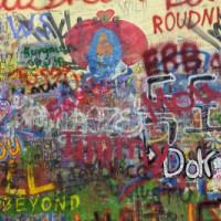 Teksten op een muur
