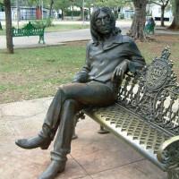 Beeld van John Lennon