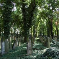 Een van de Joodse kerkhoven