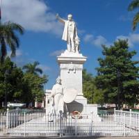 Standbeeld in het Parque José Marti