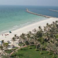 Zicht op Jumeirah Beach