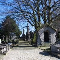 Graven in op het Campo Santo