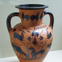Vaas uit het Kanellopoulos Museum