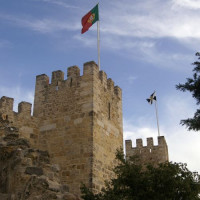 Torens van het Castelo De São Jorge