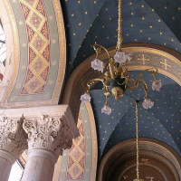 Plafond van de Kathedraal van Athene