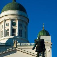 Deel van de Kathedraal van Helsinki