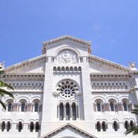 Gevel van de Sint Nicolaas-kathedraal