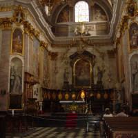 Interieur van de Sint-Salvatorskathedraal