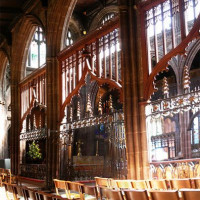 Interieur van de Manchester Cathedral