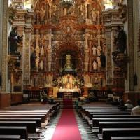 Gangpad van de Kathedraal Maria de la Sede