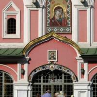Deuren van de Kazankathedraal