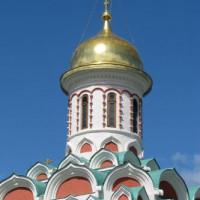 Koepeltje op de Kazankathedraal
