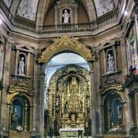 Altaar in de Igreja de Santo Ildefonso