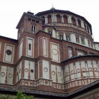 Aan de Santa Maria delle Grazie
