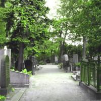 Pad op het kerkhof van Hietaniemi