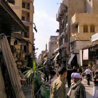 Handelaars in de Khan el-Khalili