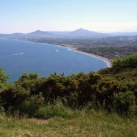 Baai bij Killiney