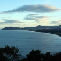 Zicht op Dublin Bay