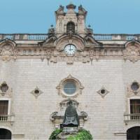 Gevel van het Klooster Lluc