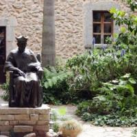 Beeld in het Klooster Lluc