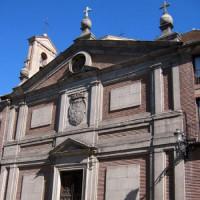 Voorkant van het klooster van de Descalzas Reales