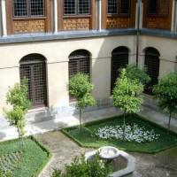Binnenplein van het klooster van de Descalzas Reales