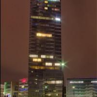 Nachtbeeld van de Kölnturm