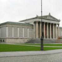 Gebouw aan de Königsplatz