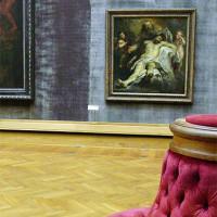 Schilderij tentoongesteld in het Museum voor Schone Kunsten