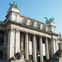 Voorgevel van het Museum voor Schone Kunsten