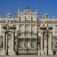 Poort voor het Palacio Real