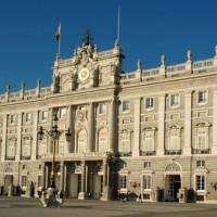 Voorkant van het Palacio Real
