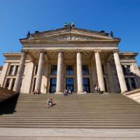 Voorkant van het Konzerthaus
