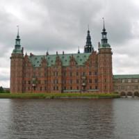 Zicht bij het Slot Frederiksberg
