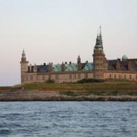 Vergezicht op het kasteel Kronborg