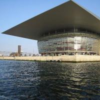 Beeld van het Operahuis van Kopenhagen