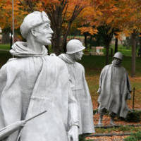 Het Korean War Memorial