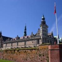 Zijaanzicht van Kronborg