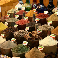 Specerijen op de Kruidenbazaar