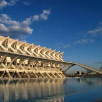 Moderne gebouwen in Valencia
