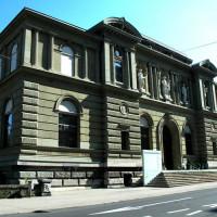 Voorgevel van het Kunstmuseum Bern