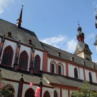 Gotisch koor en uientorens van de Liebfraukirche