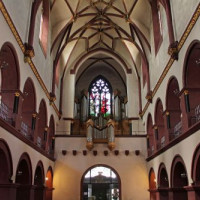 Binnenkant van de Liebfrauenkirche
