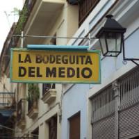 Naambord van La Bodeguita del Medio