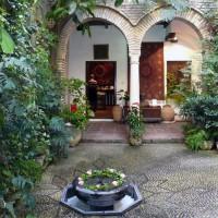 Binnenperk van het Casa Andalusí