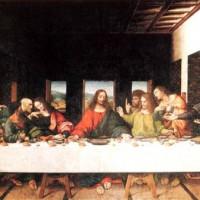 Kunstwerk in de Santa Maria delle Grazie